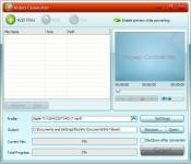 Screenshot programu GiliSoft Video Converter 7.7.0