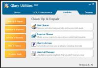 Screenshot programu Glary Utilities Pro 5.43.0.63