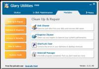 Screenshot programu Glary Utilities 5.43.0.63