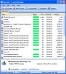 Screenshot programu Glarysoft Process Manager 1.4
