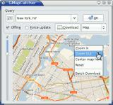 Screenshot programu GMapCatcher 0.8.0.1