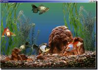 Screenshot programu Goldfish Aquarium  1.0