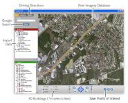 Screenshot programu Google Earth 7.1.5.1557