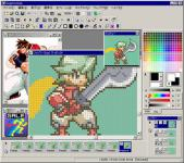 Screenshot programu GraphicsGale 2.04.09