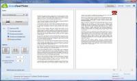 Screenshot programu GreenCloud Printer 7.5.4.0