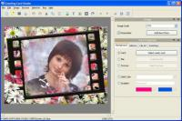 Screenshot programu Greeting Card Studio 5.47