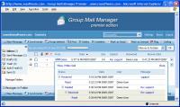 Screenshot programu Group Mail Manager Professional  2.25.33