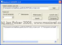 Screenshot programu GUI4UPX