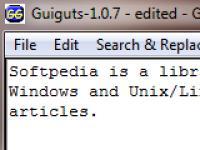 Screenshot programu GuiGuts 1.0.25