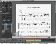 Screenshot programu Guitar PRO 6.1.9 R11686
