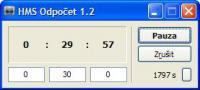 Screenshot programu HMS Odpočet 1.20