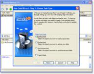Screenshot programu Handy Backup 7.7.4