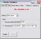 Screenshot programu Handy Tweakers 1.0