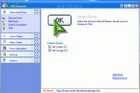 Screenshot programu HDCleaner 2.365
