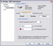 Screenshot programu HDD Thermometer 1.3