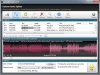Screenshot programu Helium Audio Splitter 1.3.0 Build 205