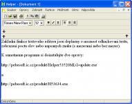 Screenshot programu Helper 5.3.6.25