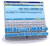 Screenshot programu HEXelon MAX 6