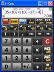 Screenshot programu HiCalc 1.0