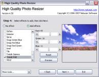 Screenshot programu High Quality Photo Resizer 5.0