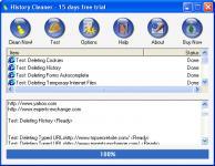 Screenshot programu History Cleaner 3.13