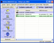 Screenshot programu Hlídací pes 2002 2.05