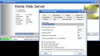 Screenshot programu Home Web Server 1.9.1.164