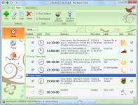 Screenshot programu Hot Alarm Clock 5.1.0.0