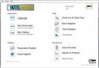 Screenshot programu HotelMaster 1.8.1