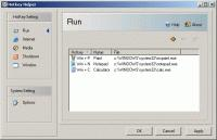 Screenshot programu Hotkey Helper 1.5
