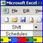 Screenshot programu 8 Hour Shift Schedules for 7 Days a Week 2.0