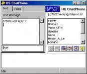 Screenshot programu HS ChatPhone 2.0
