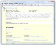 Screenshot programu HTML Blogger 1.0