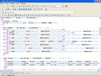 Screenshot programu HTML editor Yugie 5.1.10.0