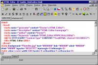 Screenshot programu HTML Editor 3.0 Relase 10