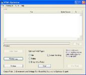 Screenshot programu HTML-Optimizer 10.7.5