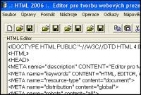 Screenshot programu HTML 2006