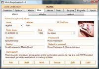 Screenshot programu Hudební encyklopedie 4.1.5