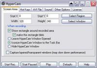 Screenshot programu HyperCam 3.5.1210.30