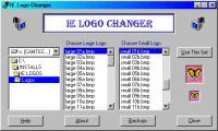 Screenshot programu IE Logos 1.0
