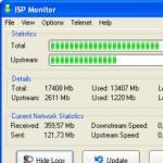 Screenshot programu ISP Monitor 5.7.5