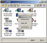 Screenshot programu Icon Phile 2.02