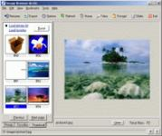 Screenshot programu Image Browser Arctic 5.0 build 8