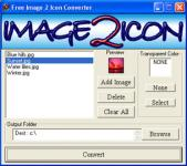 Screenshot programu Image 2 Icon Converter  1.5