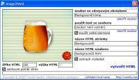 Screenshot programu image2html 1.0.26