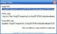 Screenshot programu ImageShack Hotspot 1.3