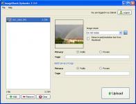Screenshot programu ImageShack Uploader 2.2.0
