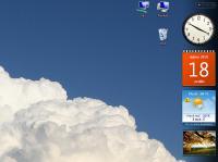Screenshot programu In-počasí - Gadget 1.1.0.0