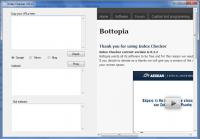 Screenshot programu Index Checker 0.3.1b