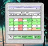 Screenshot programu Insight Calendar 1.0  Beta 8.9.6